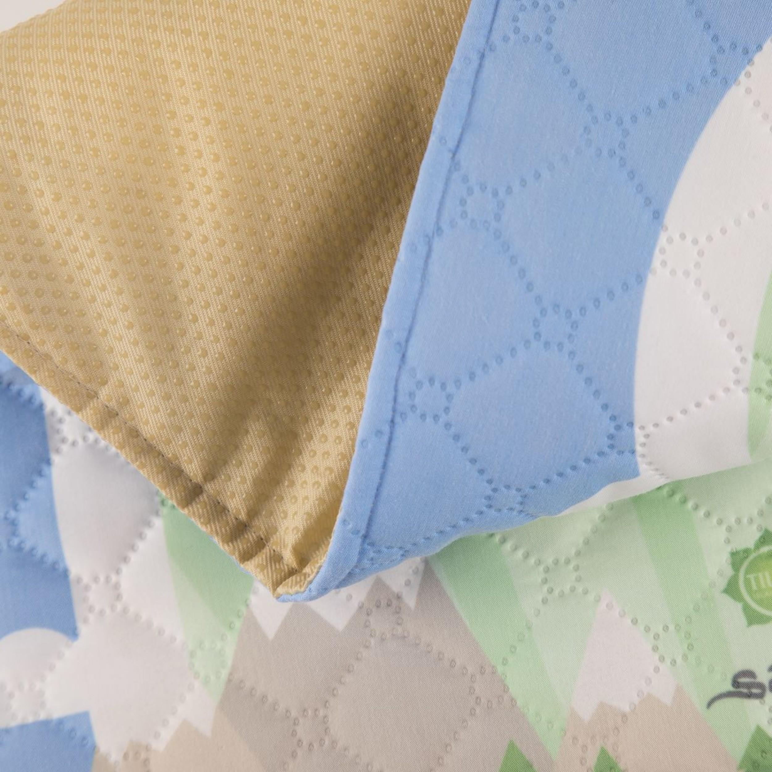 Детский синий коврик для намаза (размер 78x47)
