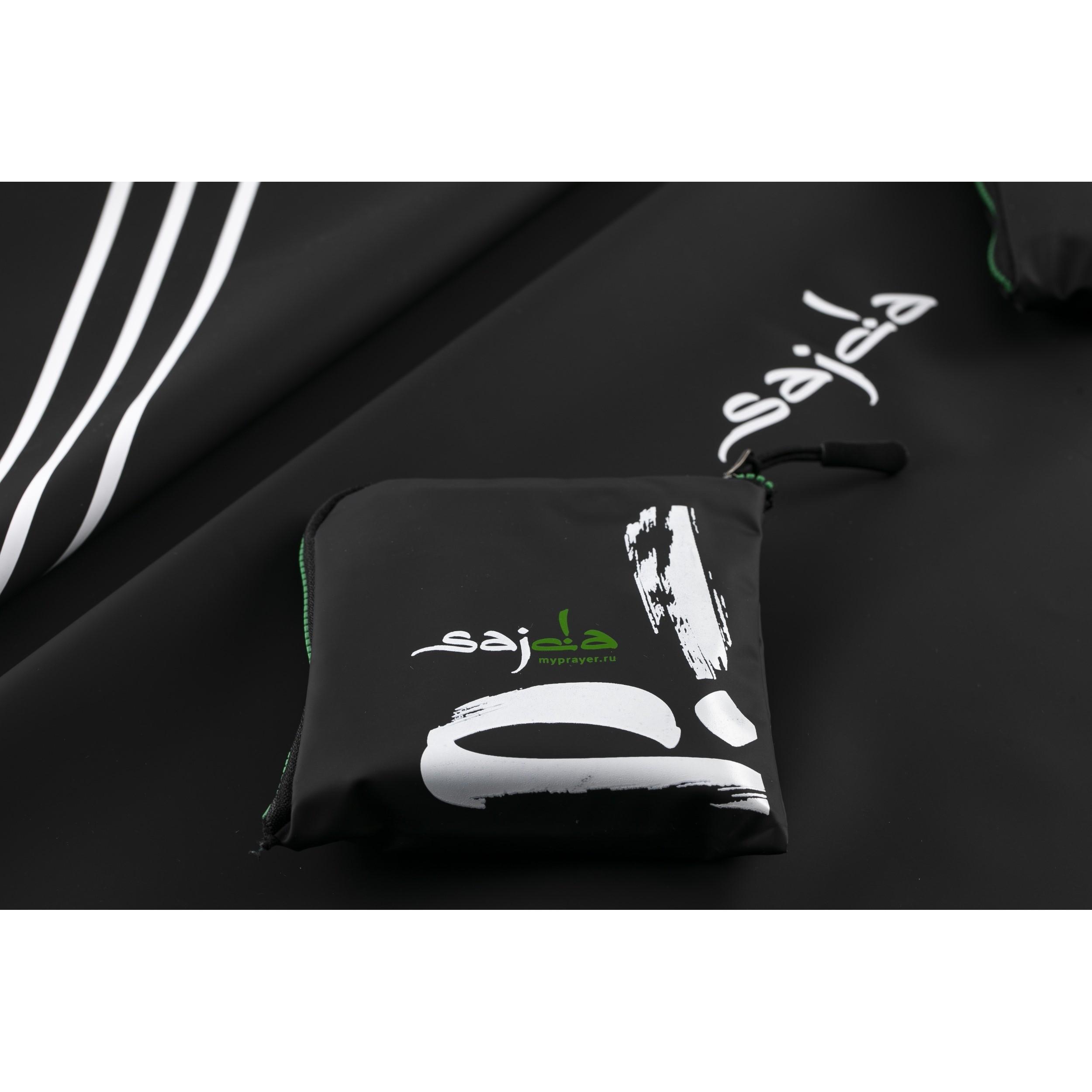 """Ультракомпактный карманный непромокаемый коврик для намаза """"Крепость мусульманина"""" (размер 112x63)"""