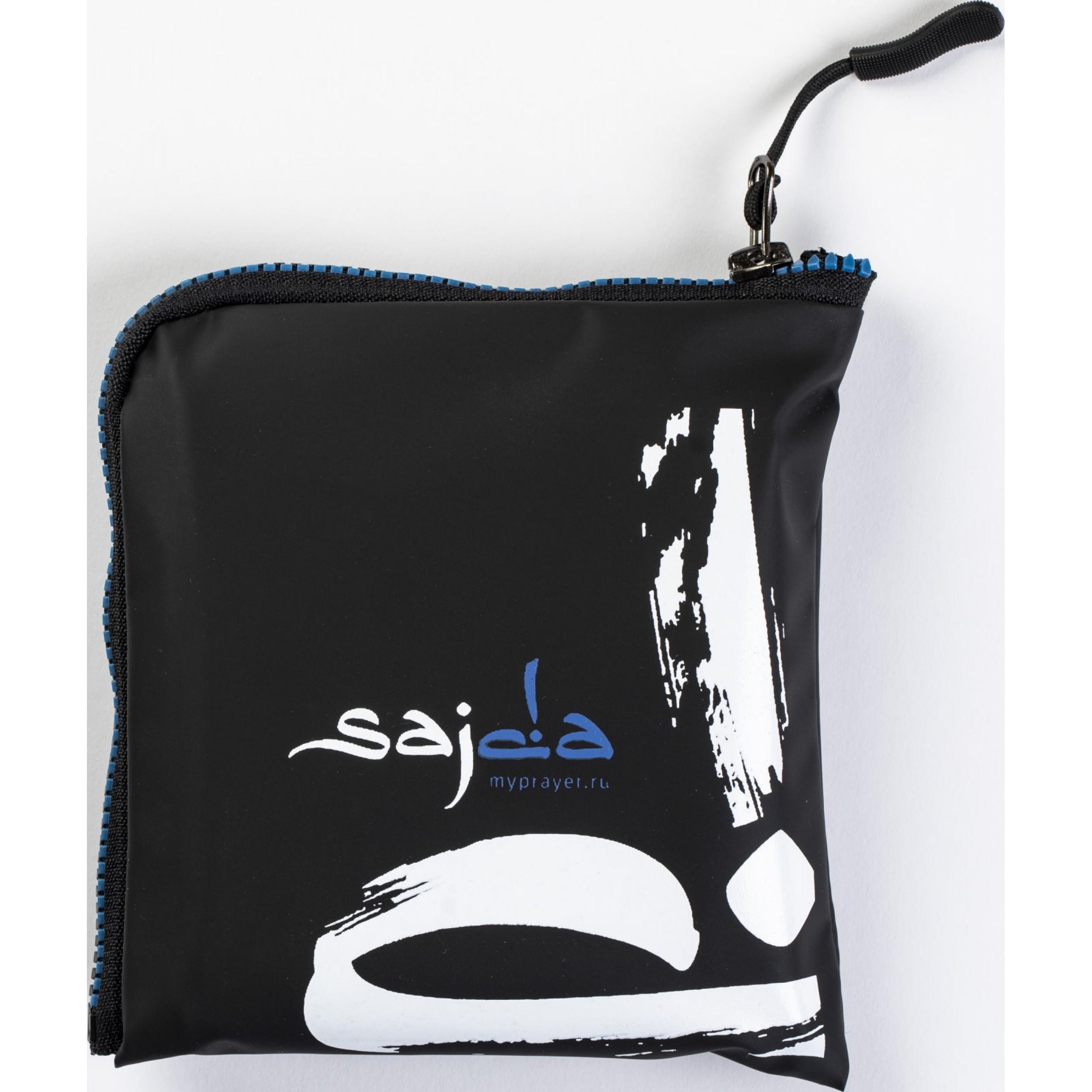 """Ультракомпактный карманный непромокаемый коврик для намаза """"Михраб"""" СИНИй (размер 112x63)"""