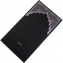 """Ультракомпактный карманный непромокаемый коврик для намаза """"Михраб"""" розовый (размер 112x63)"""
