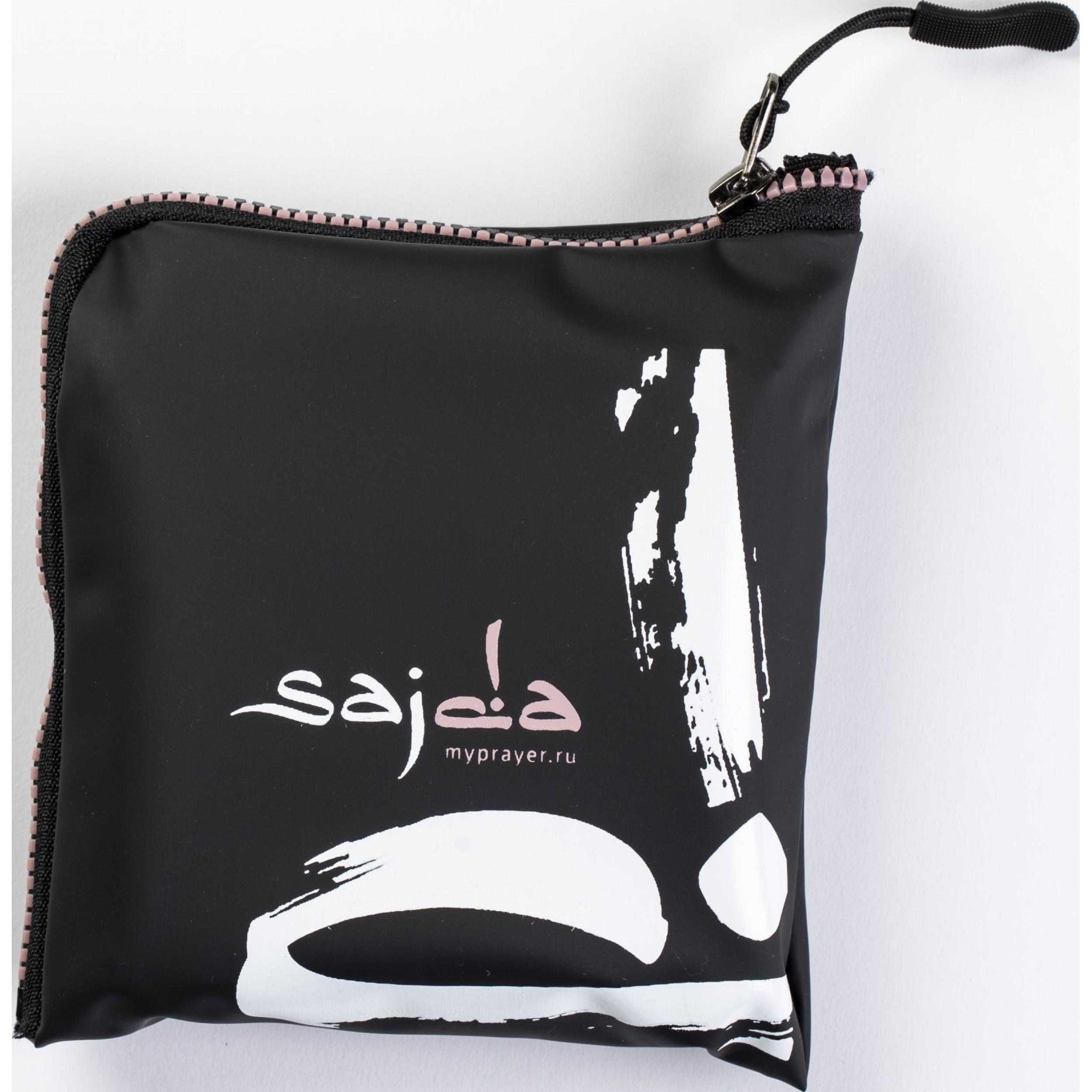 """Ультракомпактный карманный непромокаемый коврик для намаза """"Михраб"""" НЮДОВЫЙ (размер 112x63)"""