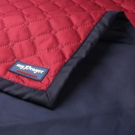 Непромокаемый коврик для молитвы бордовый (размер 115x62)