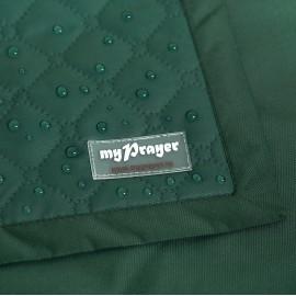 Зелёный непромокаемый коврик для молитвы (размер 120x62)