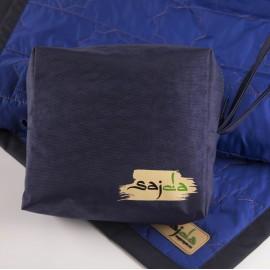 Синий непромокаемый коврик для намаза (размер 120x62)