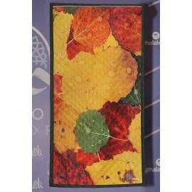 """Непромокаемый коврик для молитвы """"Яркая листва"""" размер 120x63)"""