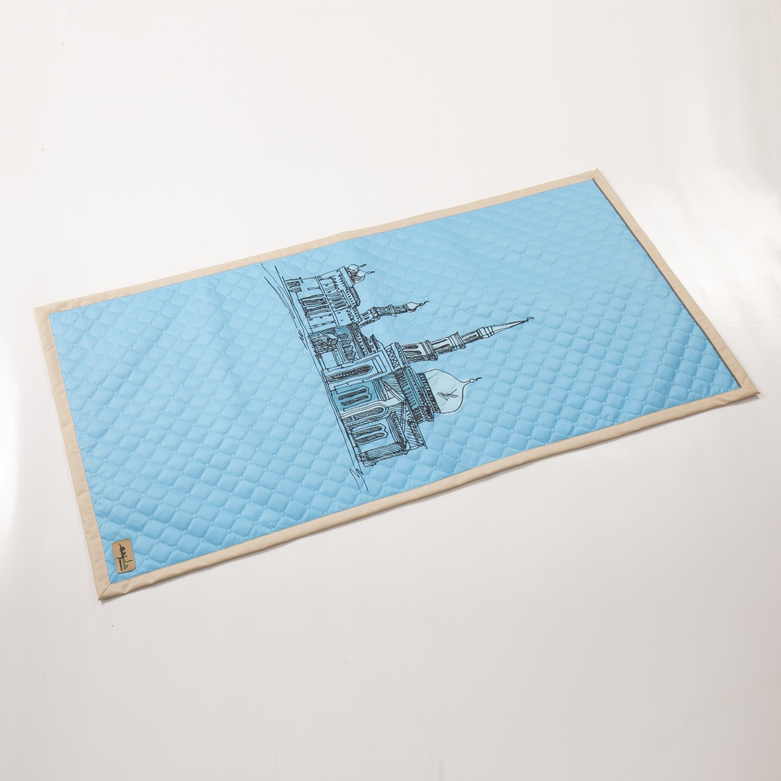 """Непромокаемый коврик для молитвы """"Московская Соборная мечеть"""" (размер 120x62)"""