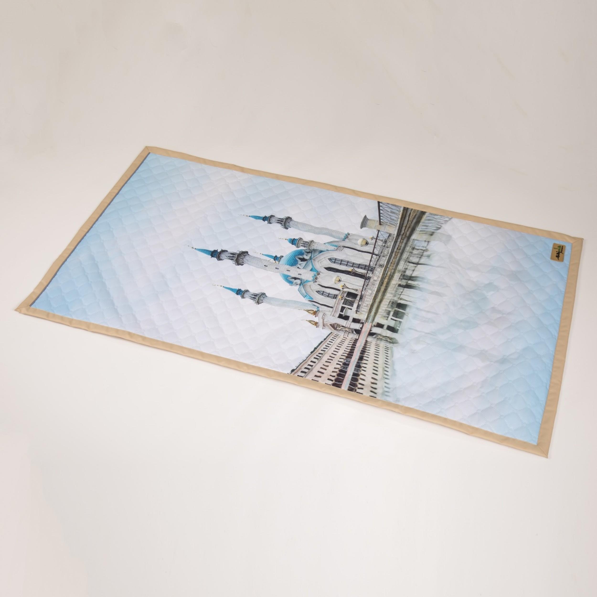 "Непромокаемый коврик для намаза ""Мечеть Кул Шариф"" (размер 120x62)"