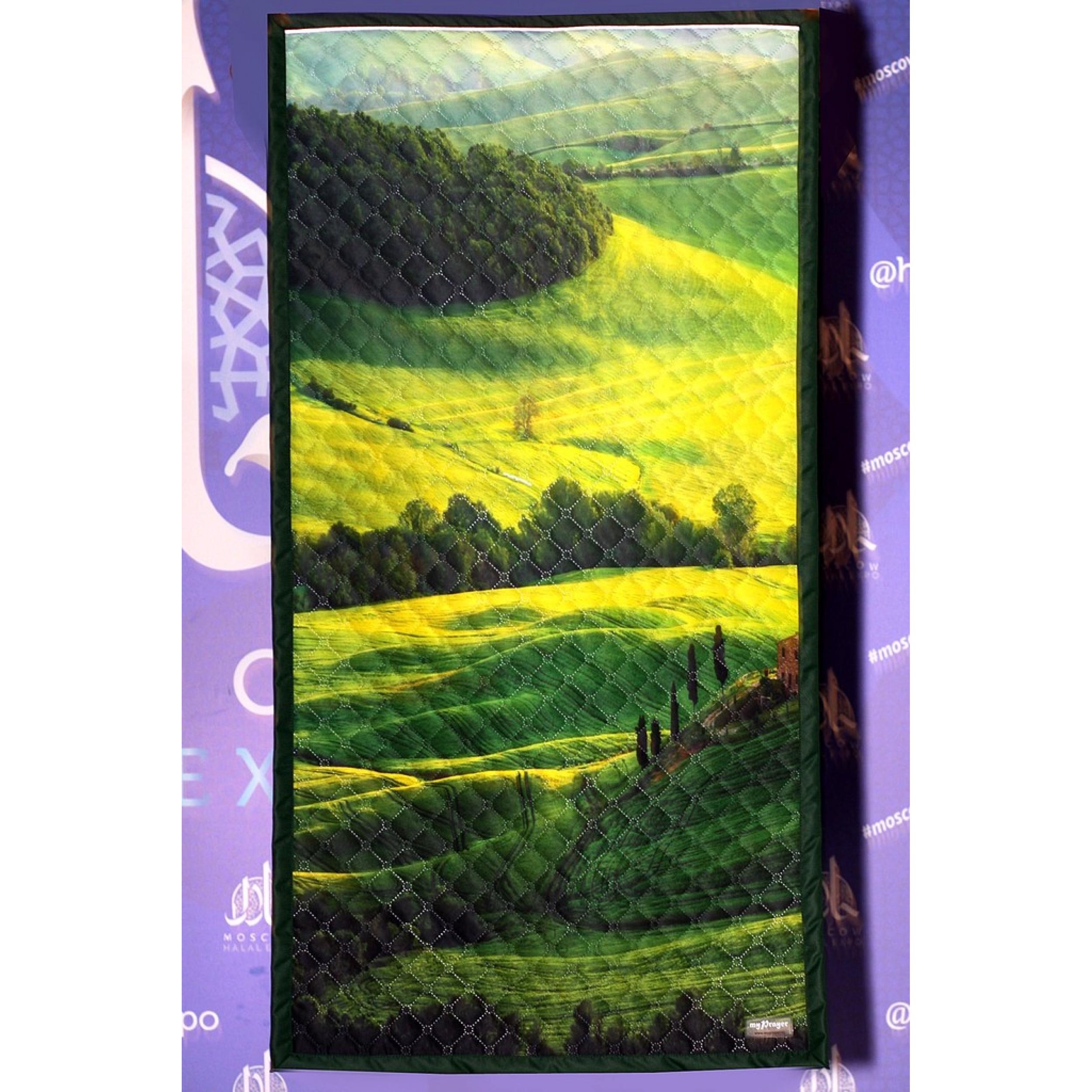 """Непромокаемый коврик для молитвы """"Итальянский ландшафт"""" (размер 120x63)"""