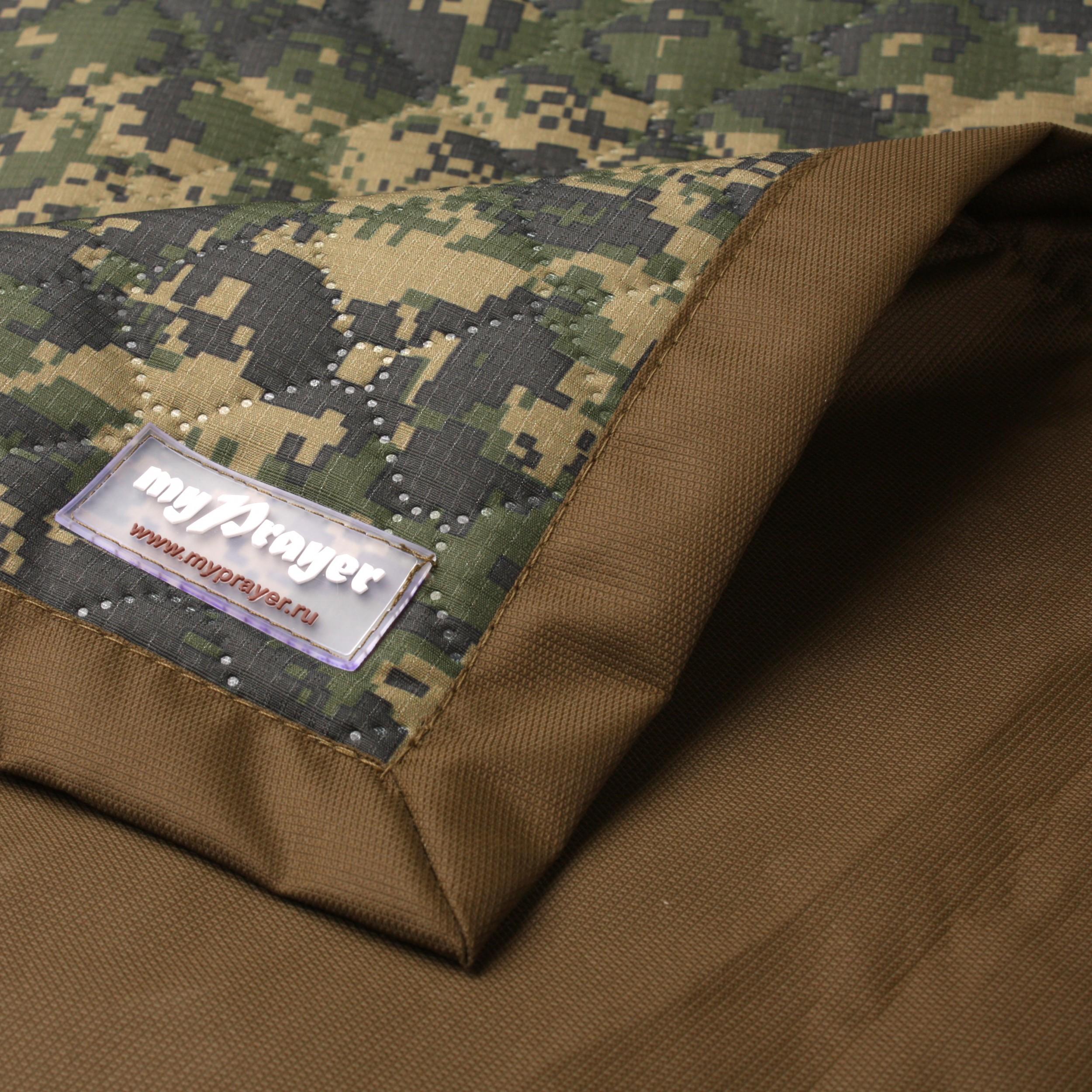 """Тактический непромокаемый коврик для молитвы """"Тайга"""" (размер 118x62)"""