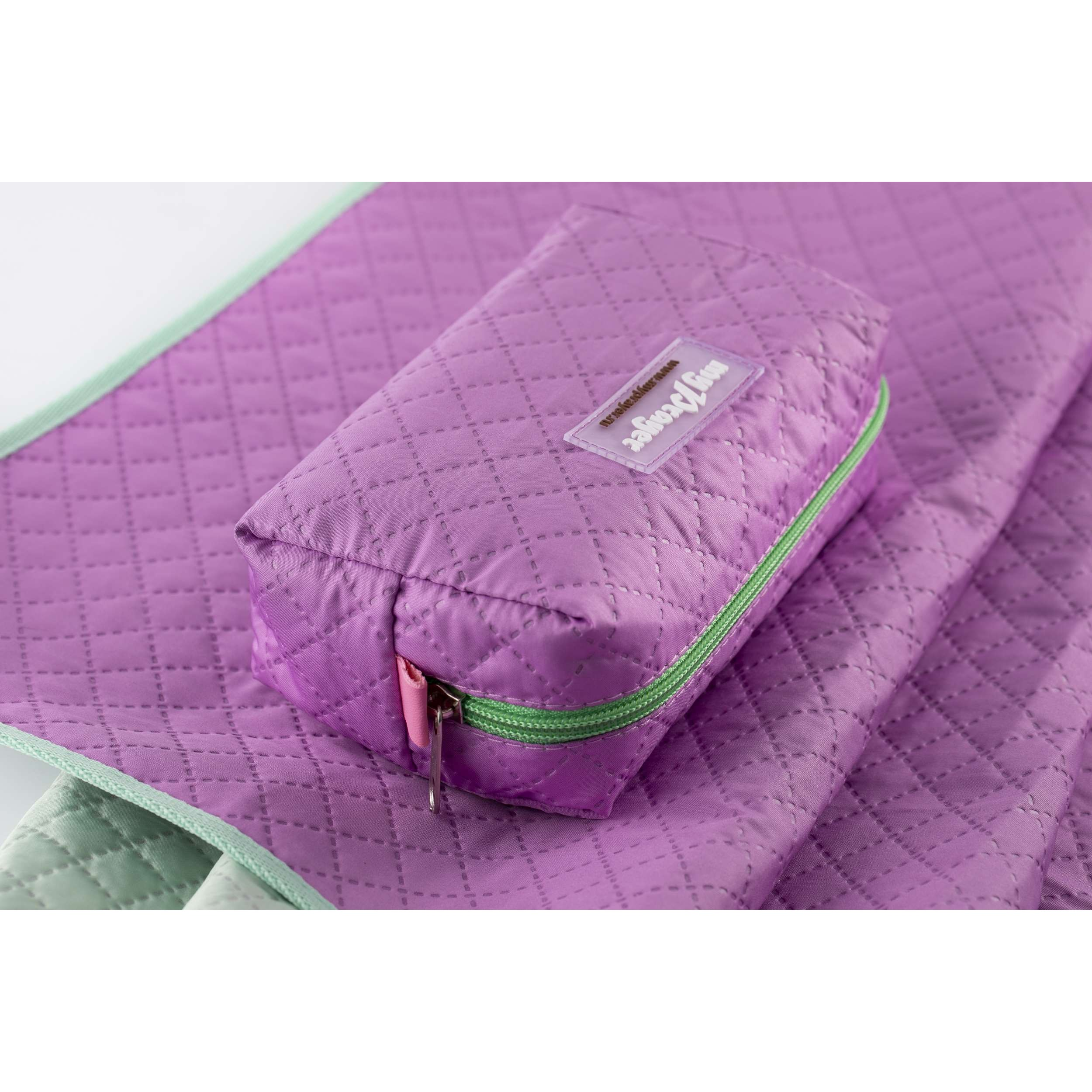 Коврик трехслойный  женский в сумочке.  Размер 110*60